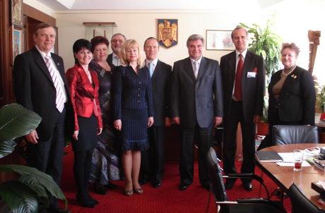 Vizita delegatiei BM