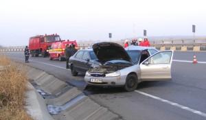 Accident grav pe DN5
