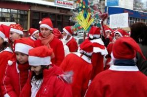 Parada Mosilor de Craciun - în sprijinul lui Alex