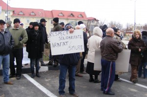 Duminica - Protest anemic la Giurgiu