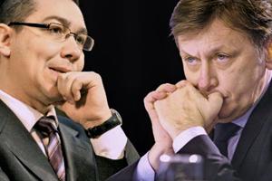 Se rupe USL? Fisuri intre Victor Ponta - Crin Antonescu