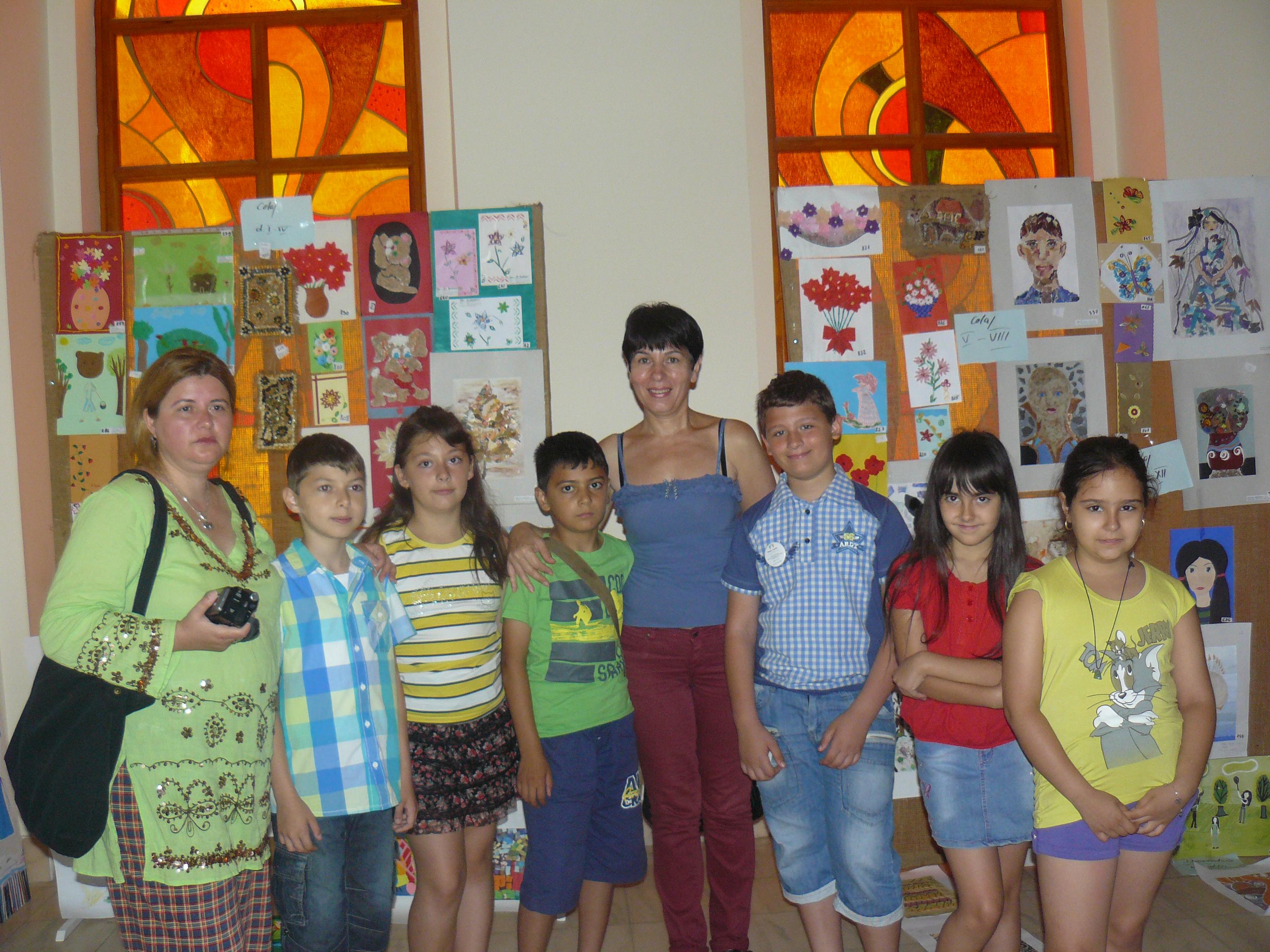 Premii pentru elevii de la Palatul Copiilor