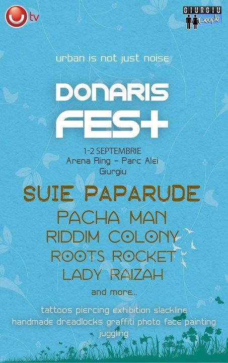 Donaris Fest – doua zile de arta si cultura urbana