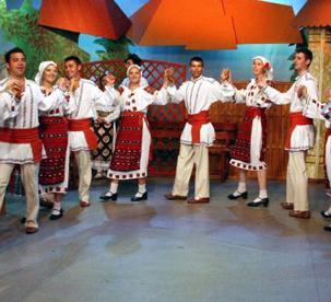 "Ansamblul ""Muntenia"" invitat special la Favorit TV"