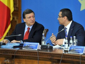 Ponta a dat-o la pace cu Barroso