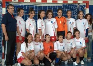 Echipa de handbal CS Nova Force – campioana de toamna