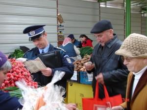 Activitatile de comert ilicit, in vizorul politistilor si jandarmilor
