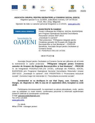 invitatie conferinta gdcs_14.09.2015