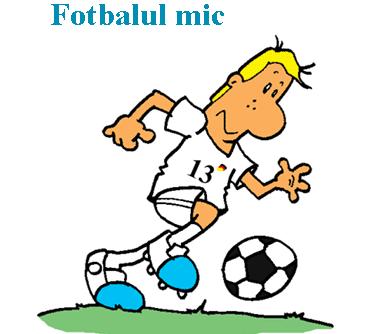 fotbalul mic